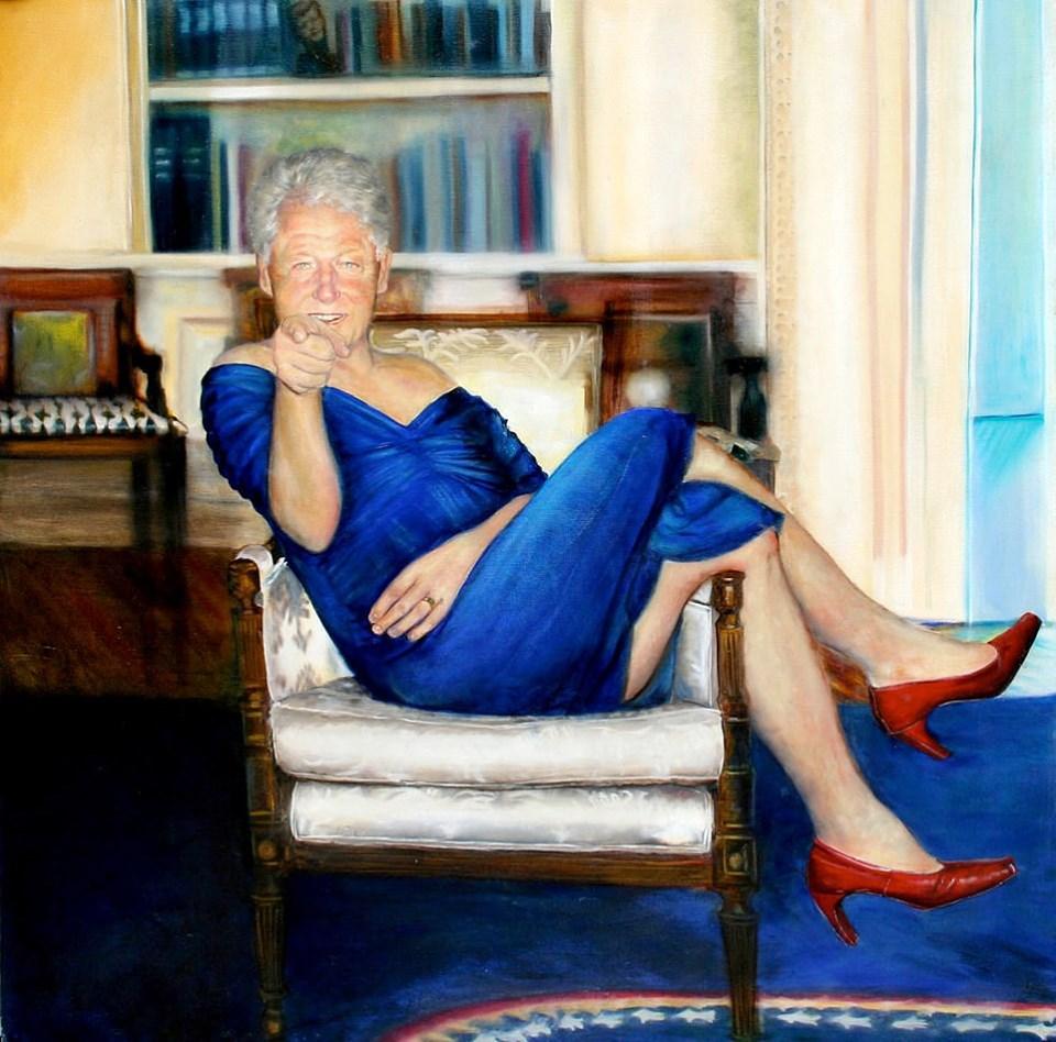 Синее платье Билла Клинтона: как политические элиты США проводили время в компании миллиардера Эпштейна?