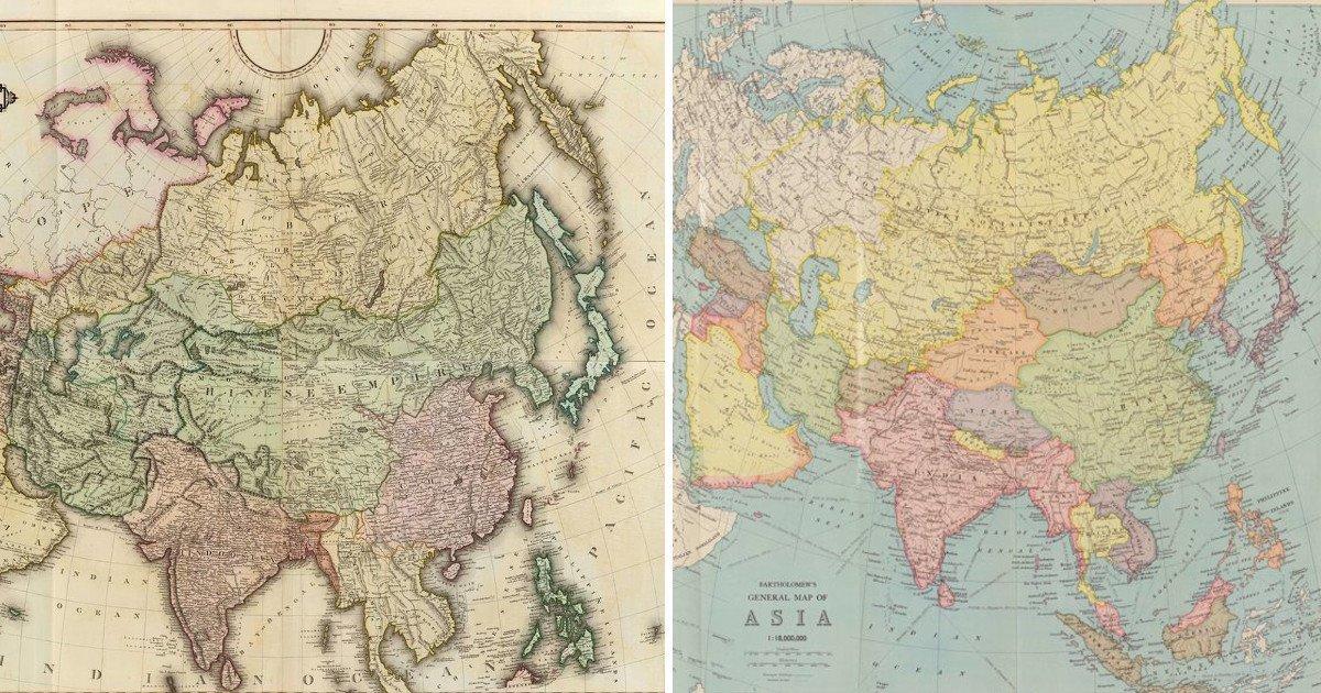 Картографический экскурс: как расширялись азиатские владения России