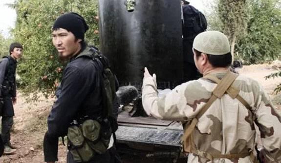Уйгурские террористы бегут из пригородов Дамаска