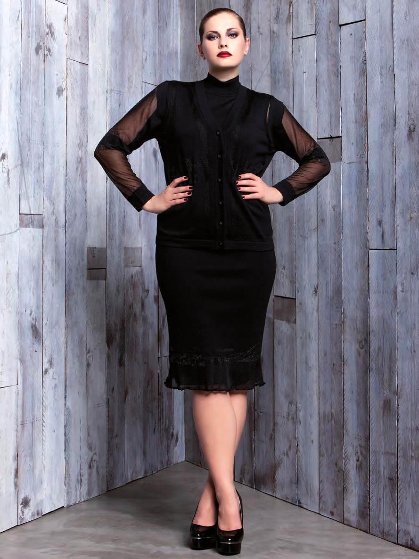 Модные фасоны платьев для полных женщин[5]