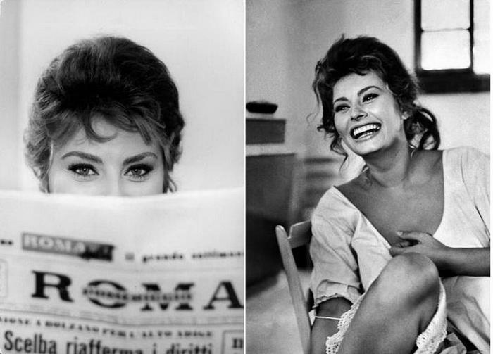 Непревзойденная Софи Лорен: 11 эксклюзивных фото самой очаровательной итальянской актрисы