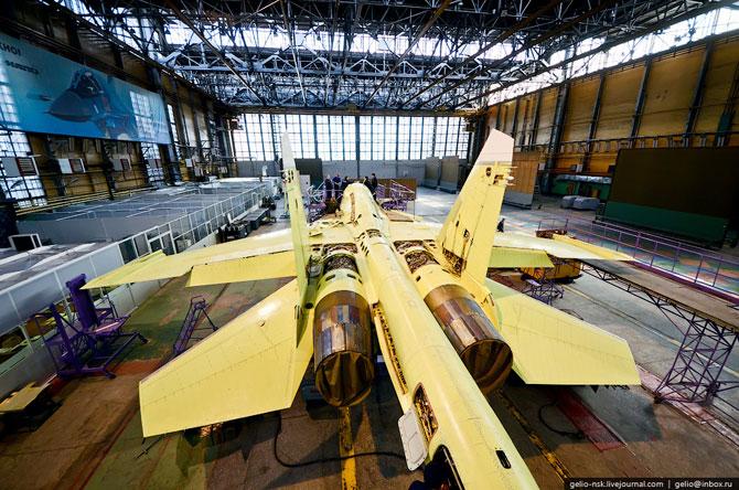 Производство Су-34 в НАПО им. В.П. Чкалова. Новосибирск (2012)