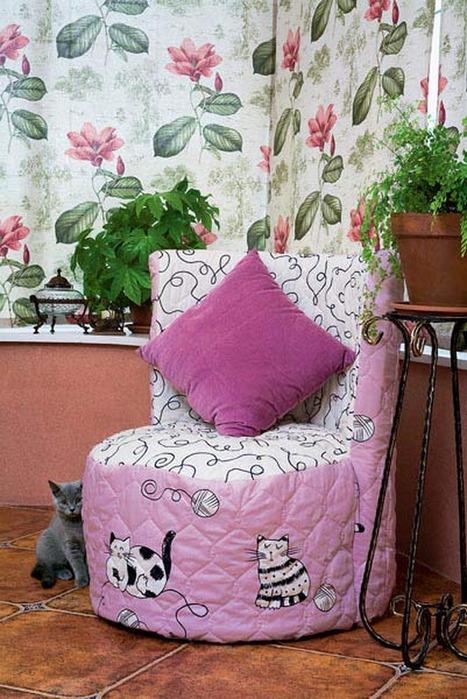 Кресла из покрышек своими руками фото