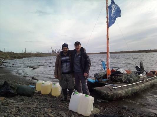 Первые находки экспедиции «Енисей-Арктика»