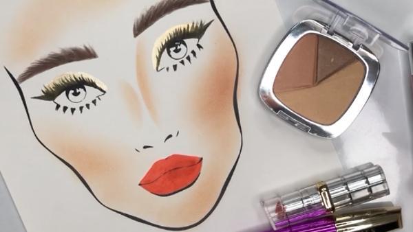 Как сделать яркий макияж для…