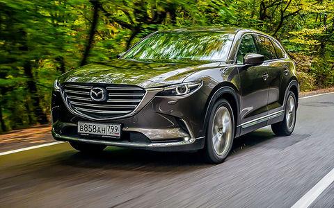 Mazda CX-9 второго поколения: первый тест