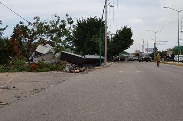 ВМексике грузовик влетел влюдей: семь человек погибли