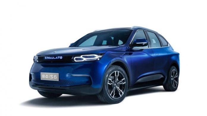 Singulato iS6: новый китайский электромобиль