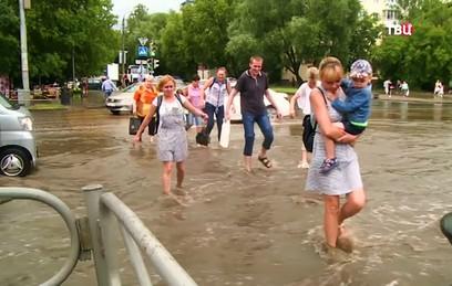 Несколько детей стали жертвами ливней в Сочи