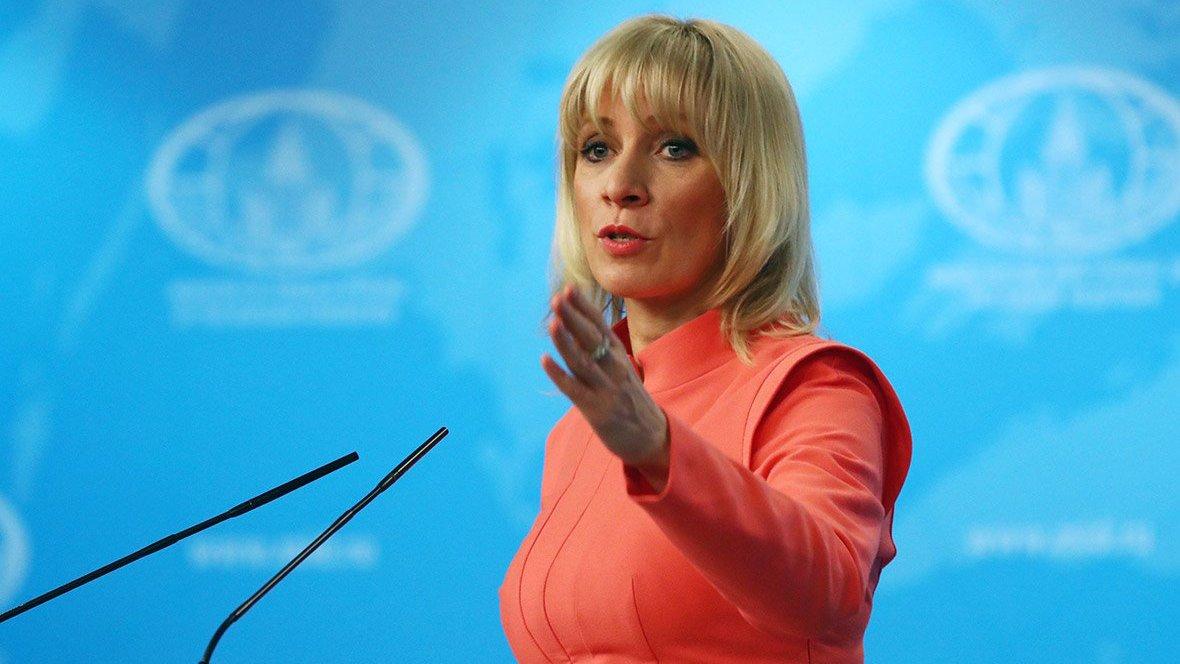 Захарова прокомментировала скандальное выступление российского дипломата