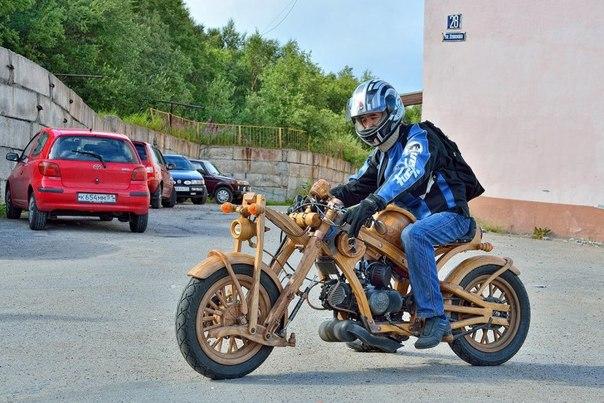Как сделать мотоцикл самостоятельно