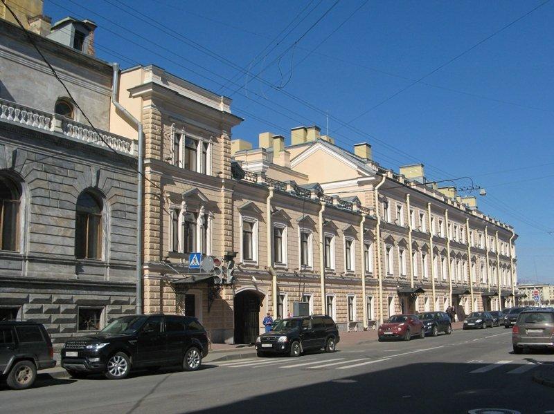 В Петербурге Европейский университет освободит занимаемый им особняк Кушелева-Безбородко