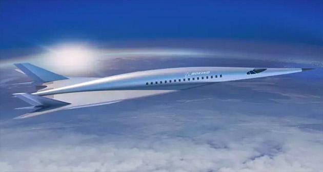 Boeing показал гиперсамолет, который пересечет Атлантику за 2 часа