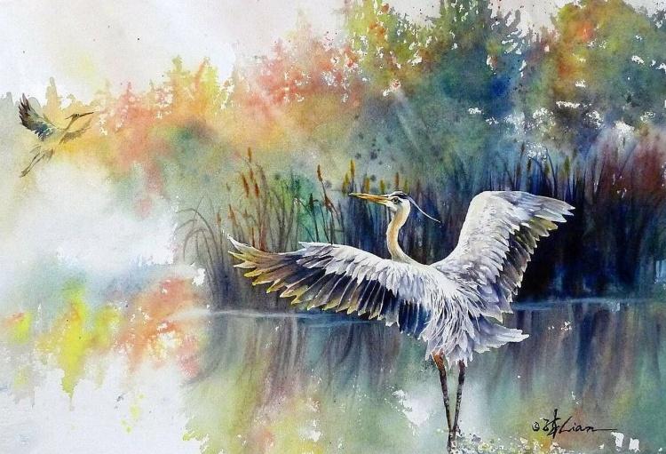 художник Lian Quan Zhen (Лиан Цюань Чжэнь) картины – 01
