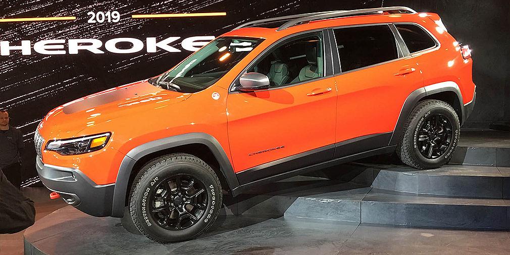 Jeep привезет обновленный Cherokee в Россию