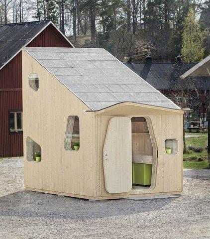 Дачный домик площадью 10 м2