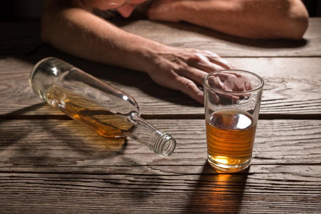 Психологические особенности алкоголика