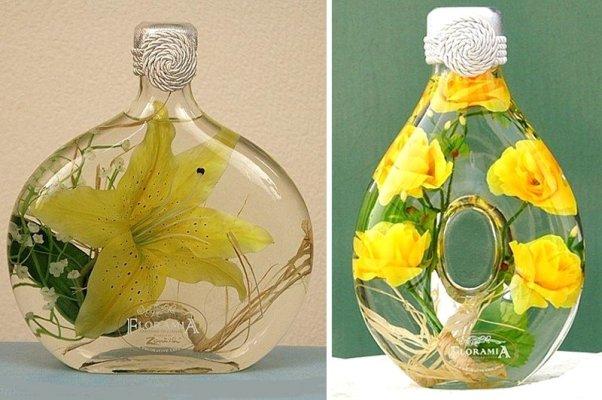 Цветы в стекле своими руками пошагово 56