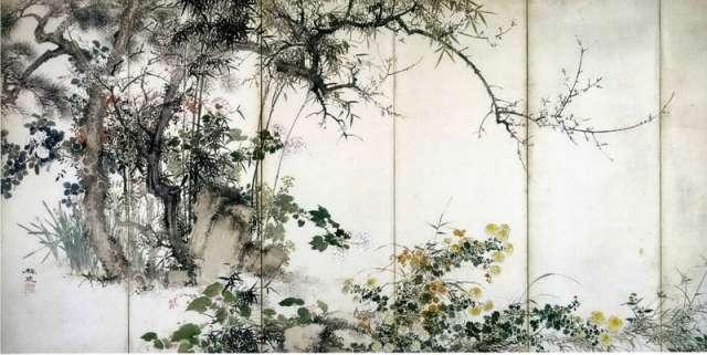 Японская живопись