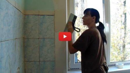 Как заштукатурить откосы окна внутри своими руками - видео для новичков