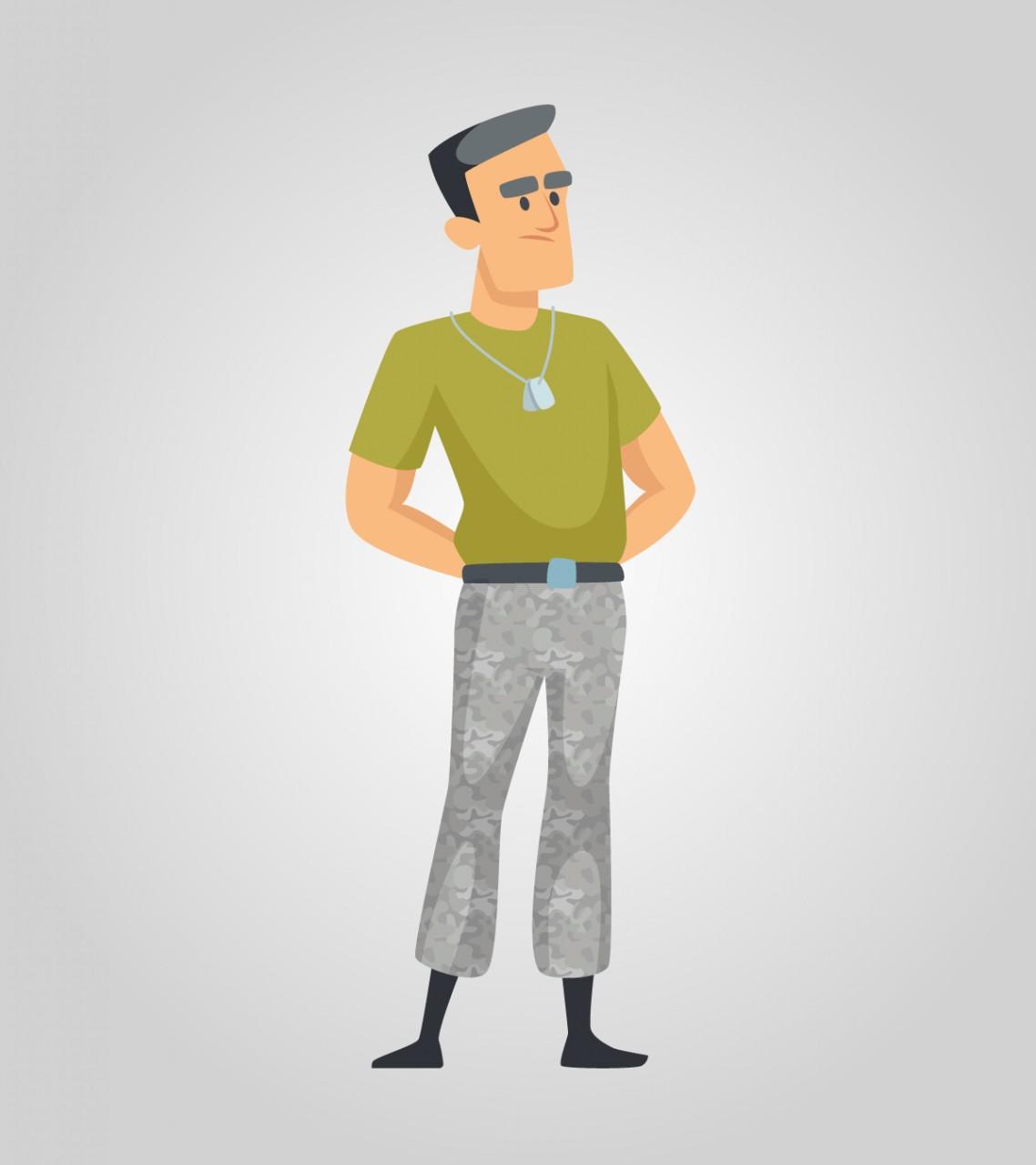 Анекдот про офицера и«чудодейственную» силу его значка