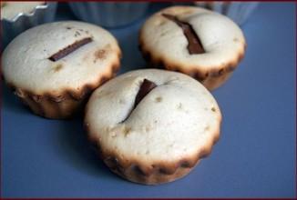 Сливочные пирожные с шоколадом - приготовление