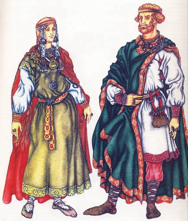 7 предметов древнерусского гардероба