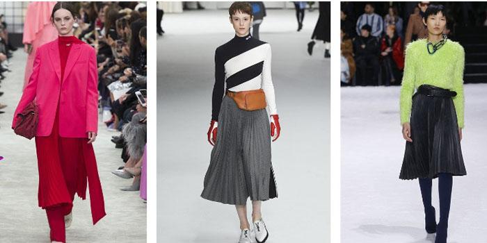 Плиссе в моде: Варианты аутфита на любой случай жизни