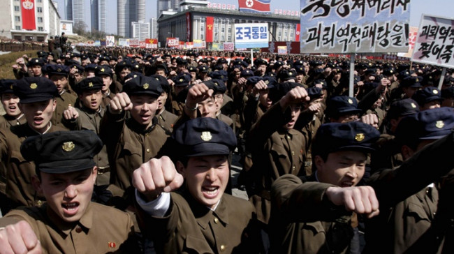 КНДР провела массовые тренировочные эвакуации населения
