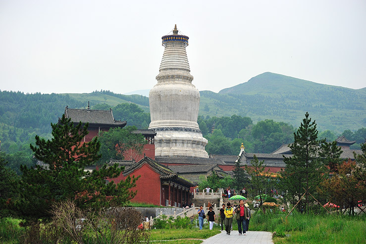Гора Утайшань (Mount Wutai) в Китае