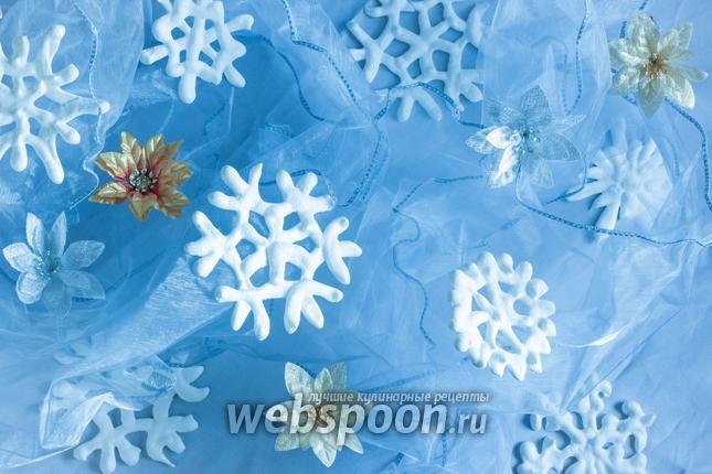 Фото Безе «Снежинки»