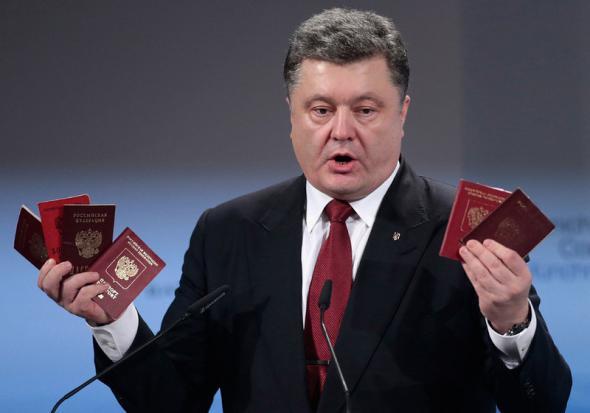 На арене цирка - престидижитатор Петр Порошенко