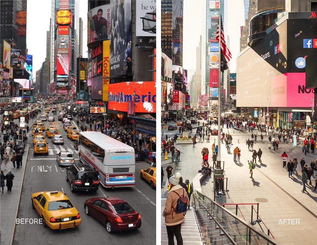 Пешеходный Таймс-сквер