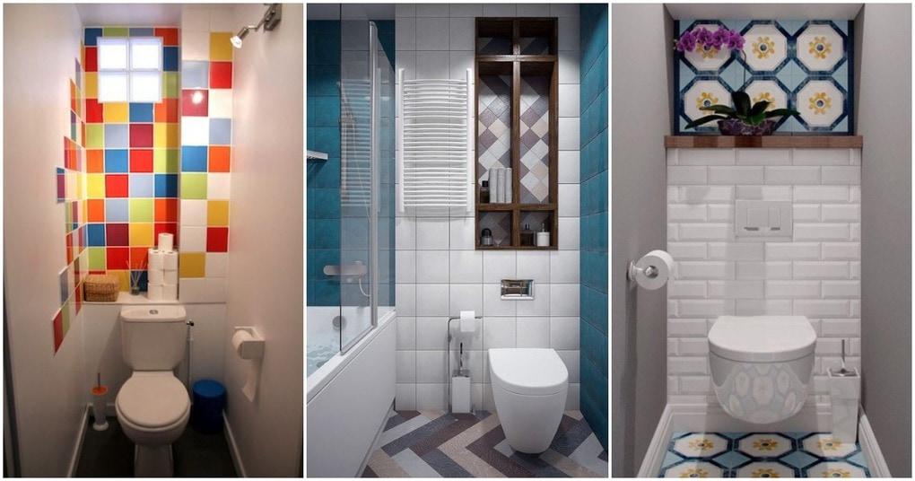 Плиточный микс: экономим на ремонте в ванной