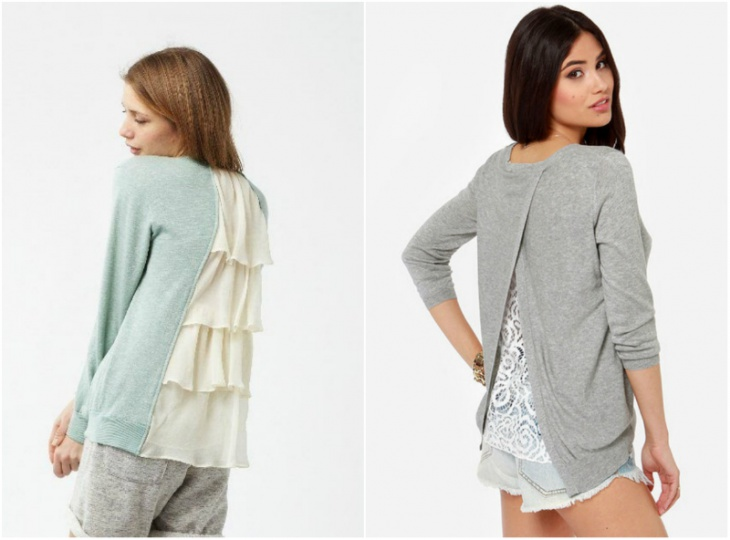 Идеи переделки свитера
