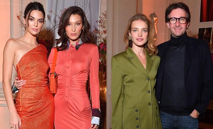 Водянова, Бекхэм, Дженнер, Хадид - весь свет fashion-индустрии на вечеринке в Париже
