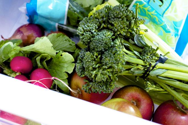 Как сохранить овощи свежими …