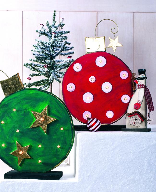 Необычные новогодние шары св…