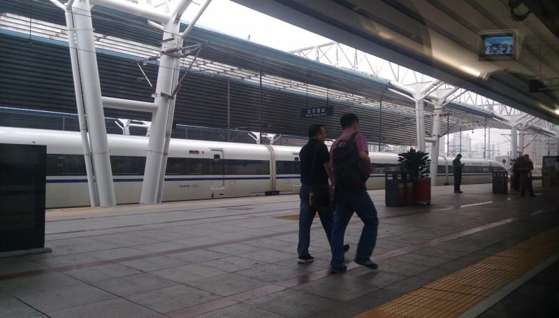 Китайские поезда и вокзалы