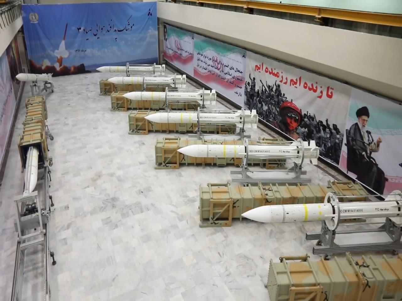 Началось производство иранских зенитных ракет Sayyad 3