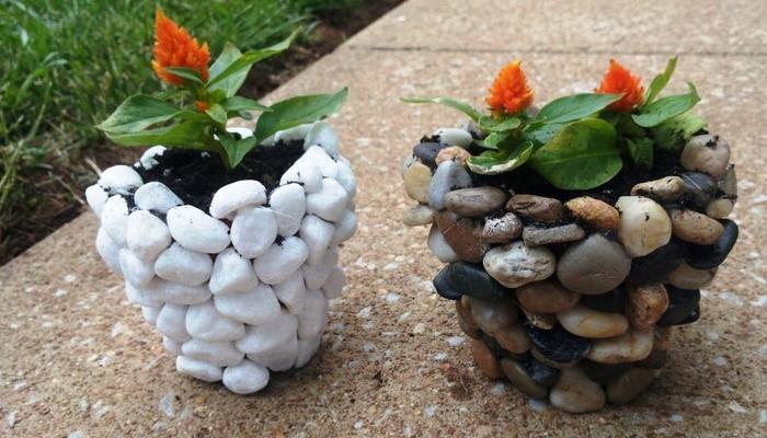 Такие цветы можно поставить в уютных уголках сада.