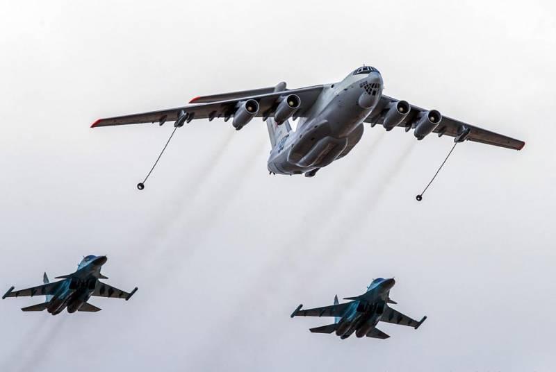 Экипажи Су-34 и Миг-31БМ ЗВО совершили дальние перелеты с дозаправкой в воздухе
