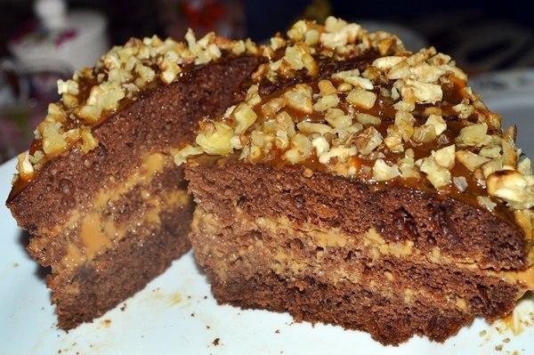 Торт «Черный принц» — вкусный, как в детстве!