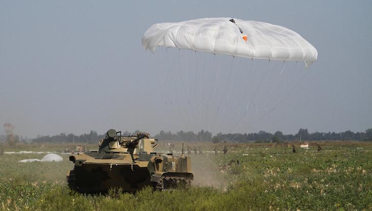 Минобороны завершило испытания новейшей парашютной системы для ВДВ