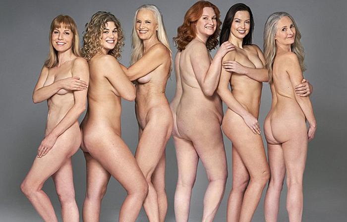 Каждое тело по-своему прекрасно: шесть женщин снялись обнаженными, чтобы показать красоту неидеальных фигур