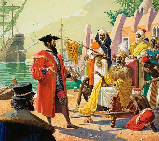 Васко да Гама - кровавый путь в Индию васко, завоевание, история, путешественник