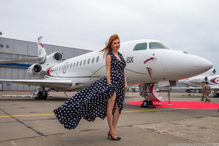 Самолеты для богатых: Jet Expo 2018