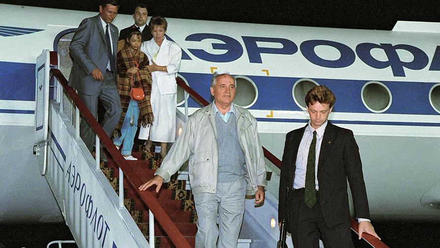 Михаил Горбачев в дни путча. 22 августа 1991 года
