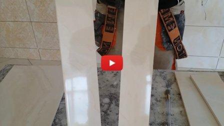Как резать плитку ручным стеклорезом - видео