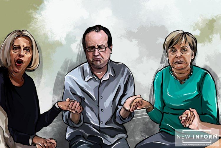 Меркель просит помощи у Путина: без России в Европе не будет мира